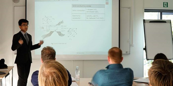 PhD defense by Yu Xu, DTU Energy, September 2017